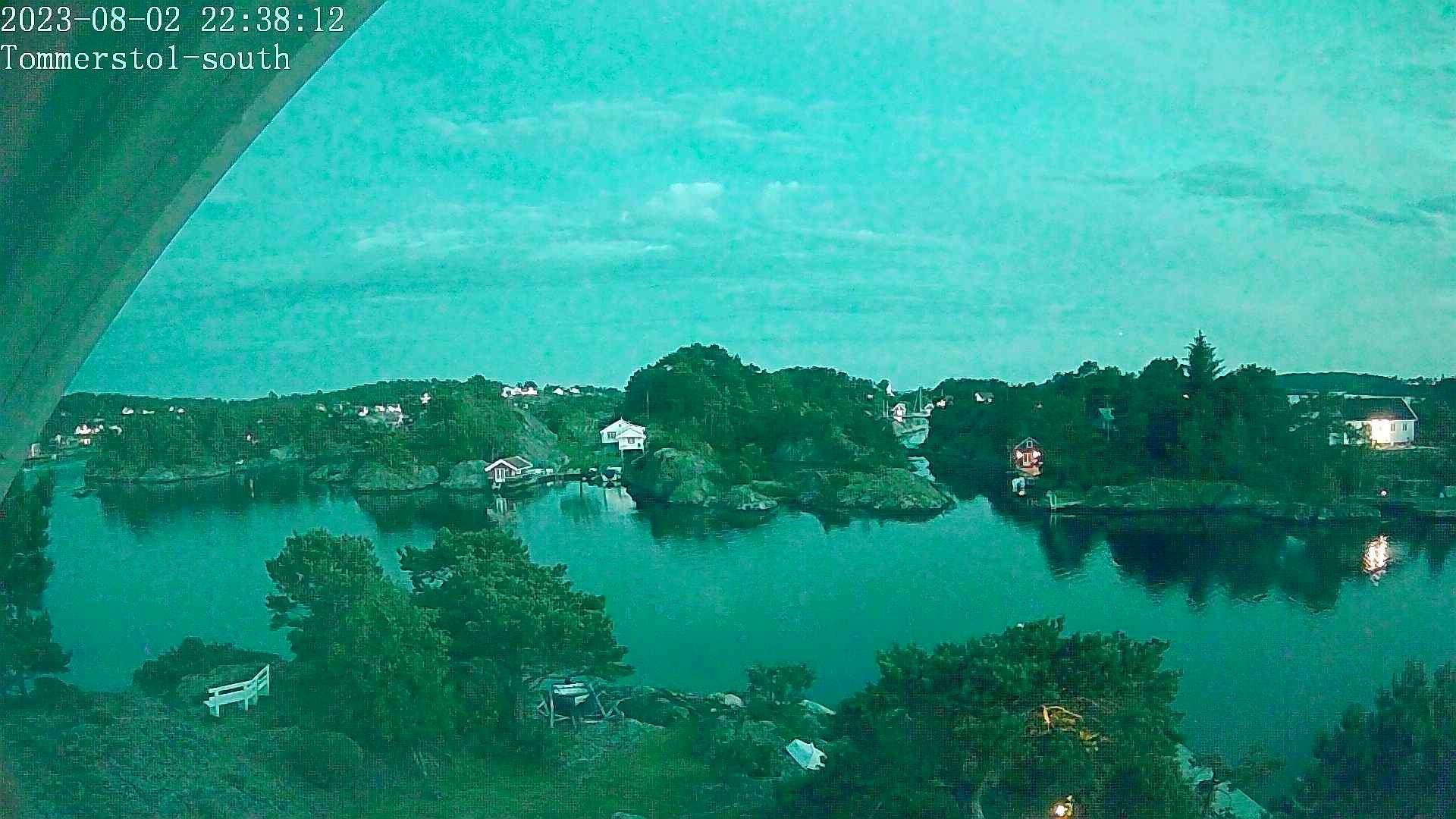 Webcam Rabbersvik › South: Teistholmen − Kristiansand fer