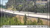 Spokane > North: US  at MP : Little - River () - Overdag