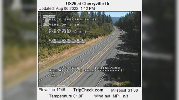 Webcam Cherryville: US26 at − Dr