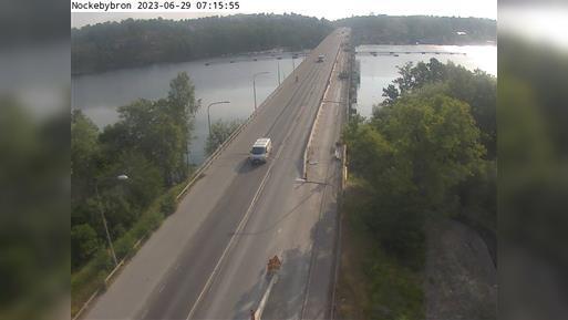 Webkamera Drottningholm: Nockebybron