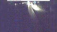 Bredsand: Hjulstabron (Kameran är placerad på väg  i höjd med Hjulstabron och är riktad mot Strängnäs) - Dia