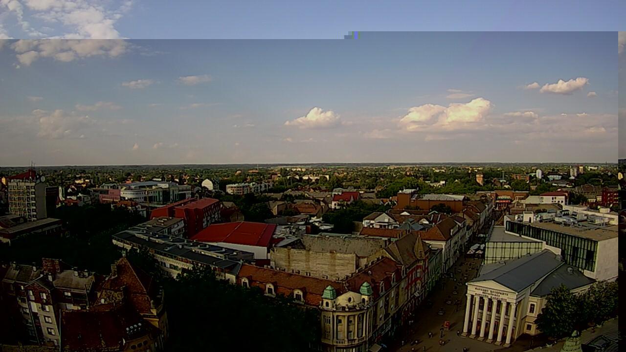 Webcam Subotica › North-East: Narodno pozorište Subotica
