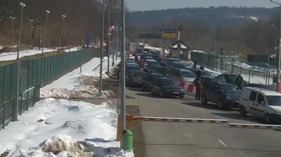 Webcam Krościenko: Border checkpoint