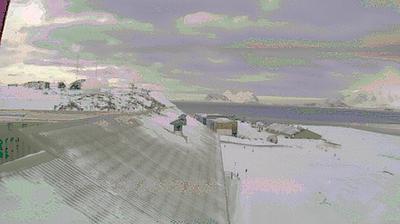 Daylight webcam view from Laborovaya: Rothera Station, Antarctica