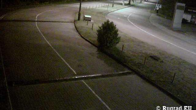 Webcam Gronowo: Mamonovo − Border checkpoint, Russia