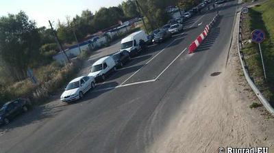Webcam Bagrationovsk: Bezledy − border checkpoint