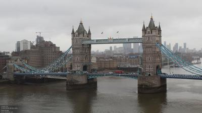 Tageslicht webcam ansicht von London: Tower Bridge