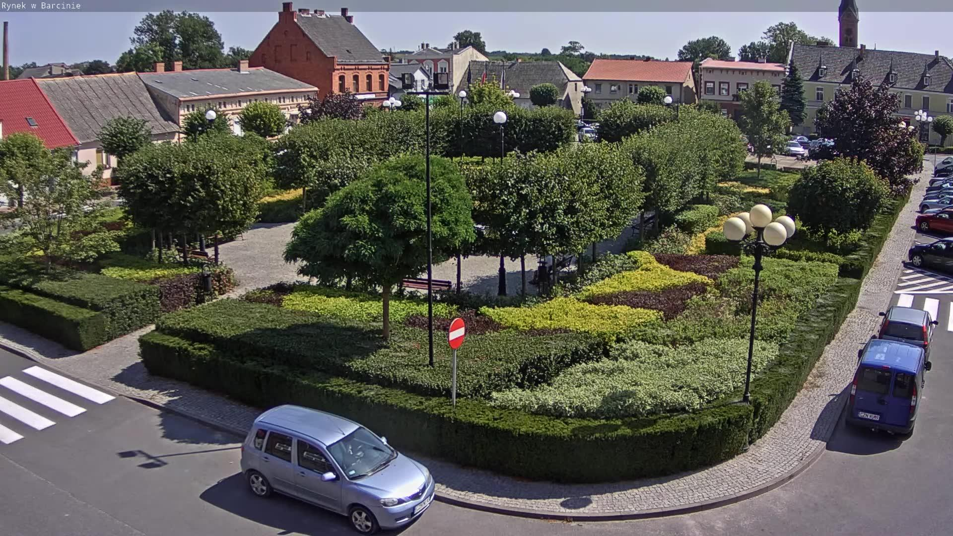 Webcam Barcin: Market square