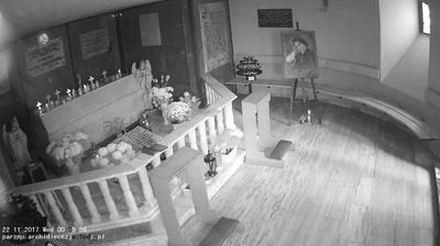 Webcam Parzno: Church − Crypt, Belchatow