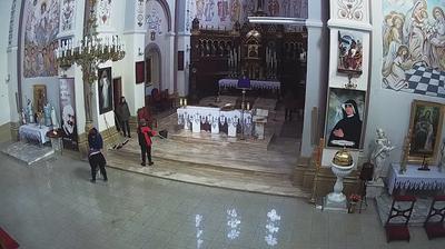 Webcam Parzno: Church, Belchatow