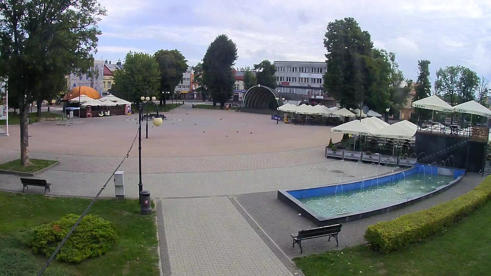 Webcam Dębica: Market Square