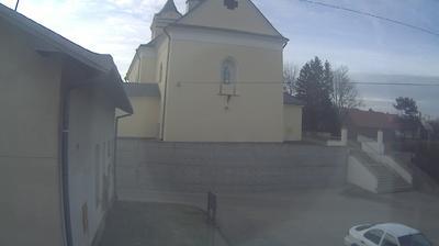 Webcam Dębowiec: Market Square, Church, Debowiec