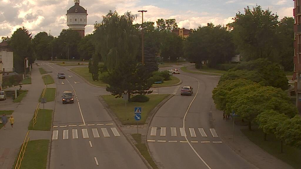 Webcam Ełk: Traffic