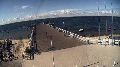Webkamera Jastarnia: Pier