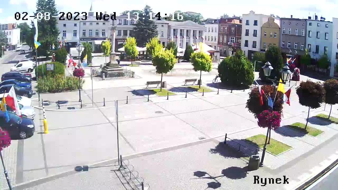 Webcam Olesno: Market square
