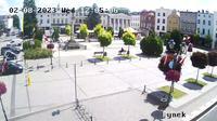 Olesno: Market square - El día