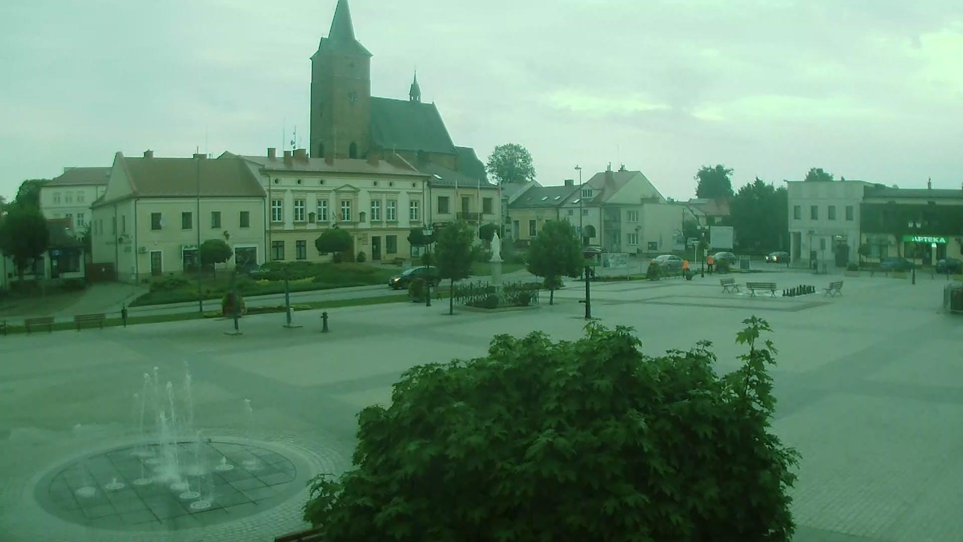 Webcam Pilzno: Market Square