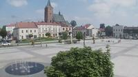 Pilzno: Market Square - Actual