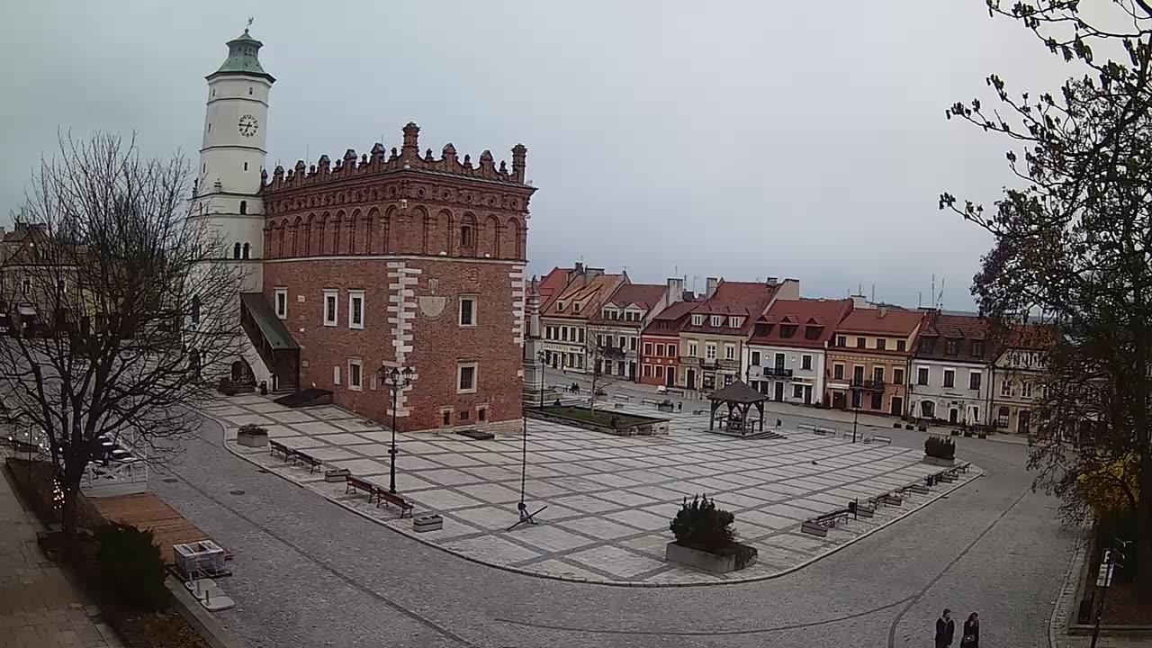 Webcam Sandomierz: Market Square