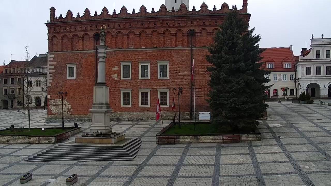 Webcam Sandomierz: Market square, Sokolnickiego St