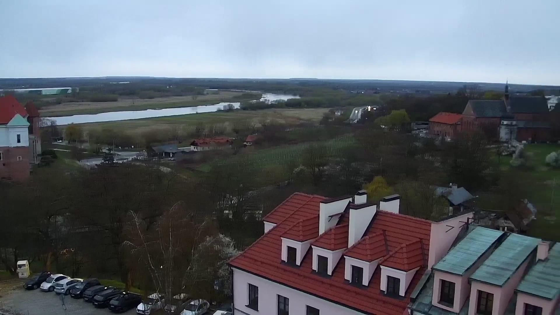 Webcam Sandomierz: Skyline