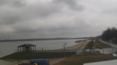 Daylight webcam view from Kajmów: Lake Tarnobrzeg, Tarnobrzeg