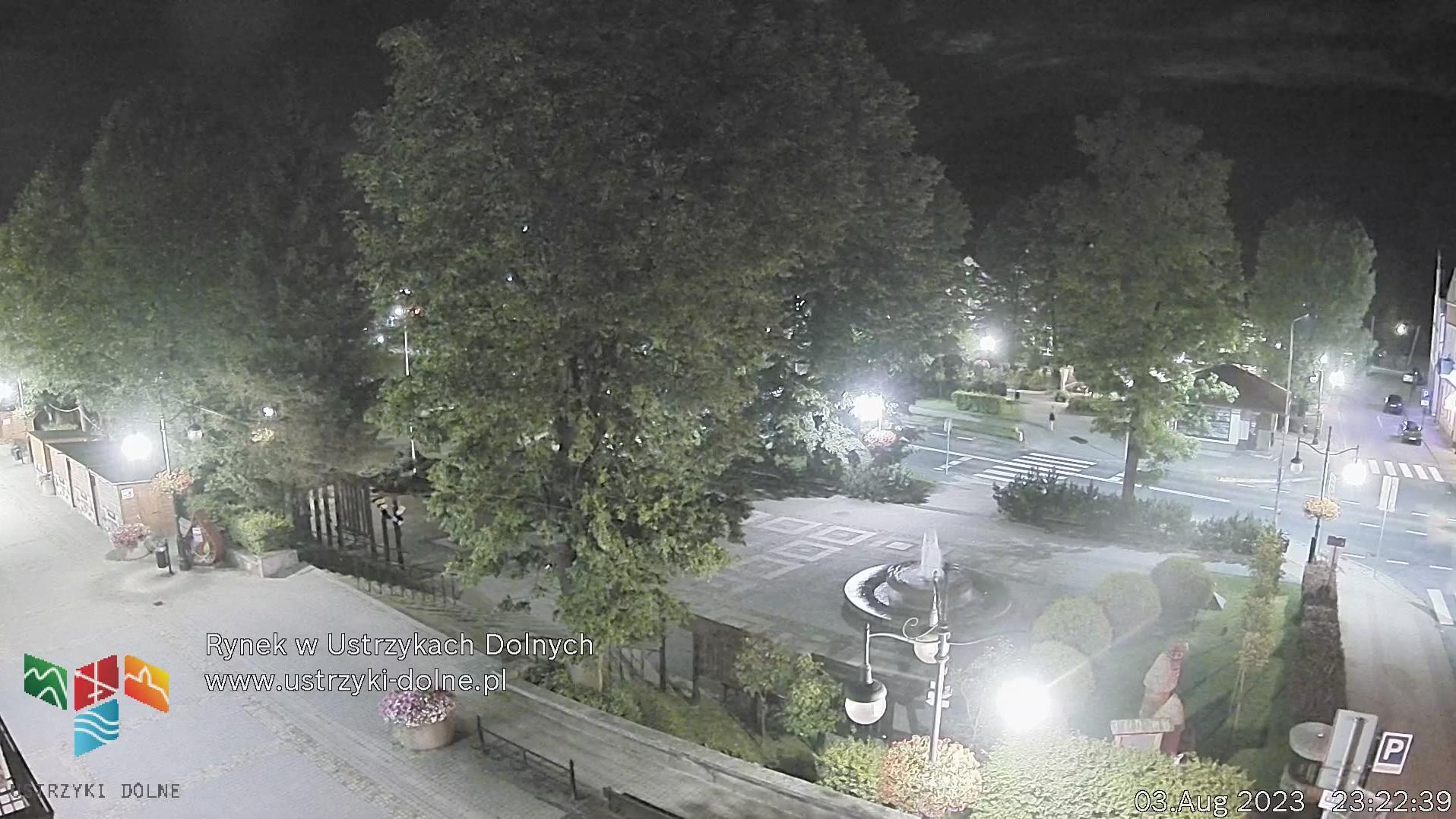 Webcam Ustrzyki Dolne: Market square