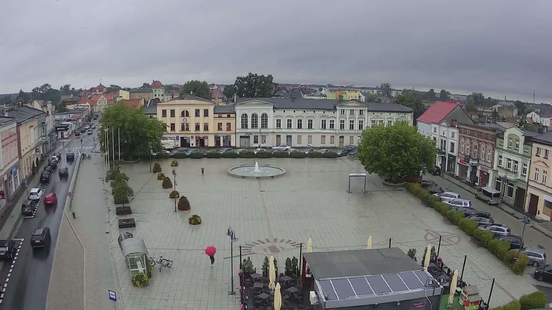 Webcam Wągrowiec: Market square