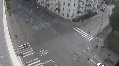 Webcam Praga Północ: Al. Solidarności, ul.Białostocka, ul