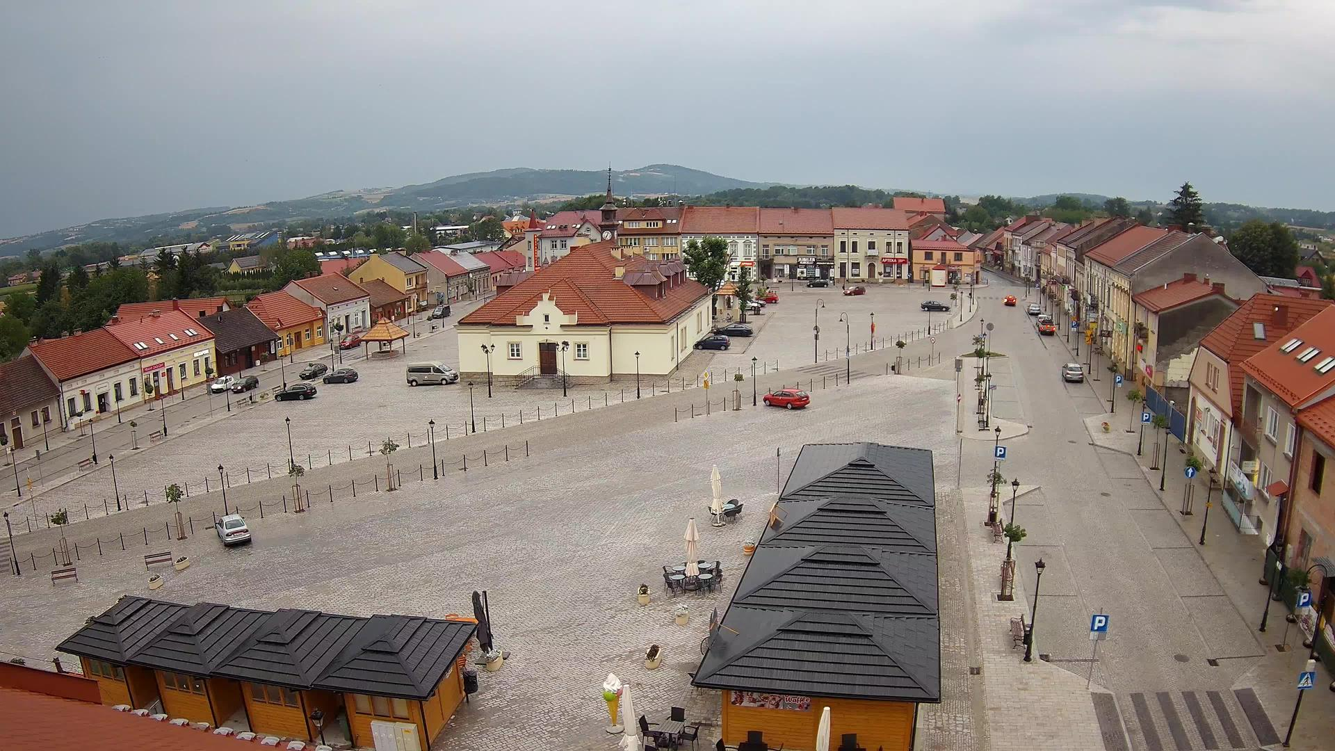 Webcam Gmina Zakliczyn: Market square