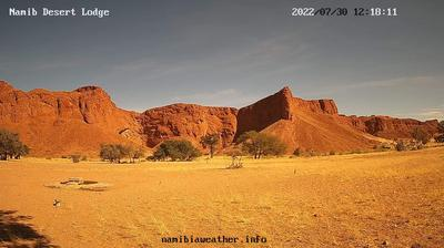 Daylight webcam view from Constantia: Gondwana − Namib Desert Lodge