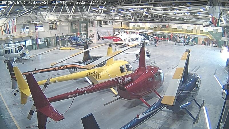 Webcam Webber: Germiston − Rand Airport