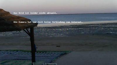 Current or last view from Playa Sidi Mehrez: Djerba Kite Lagoon