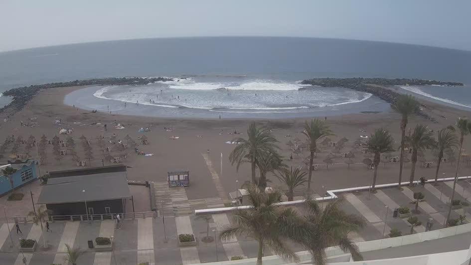 Webcam El Guincho: Tenerife − Playa de Troya