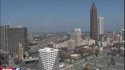 Webcam Five Points: Atlanta − Downtown, Capitol, Blue Rid