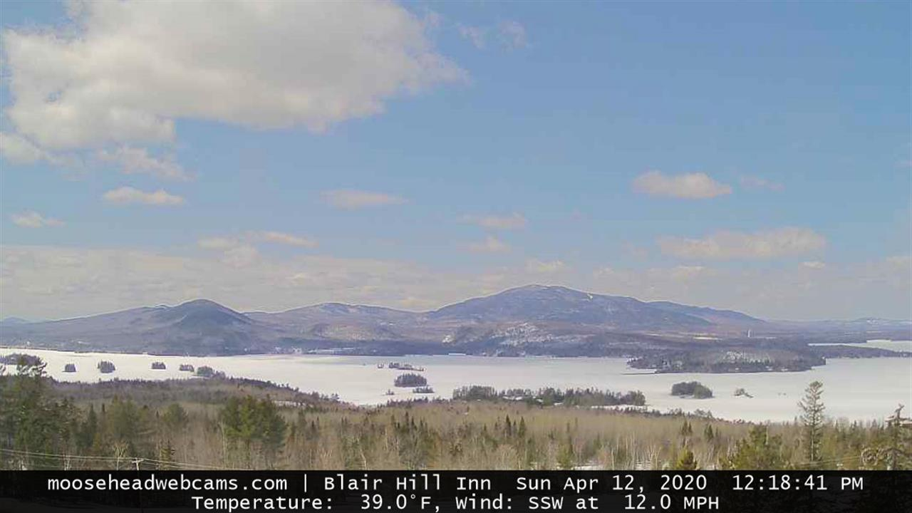 Webcam Greenville Junction: Greenville − Moosehead Lake