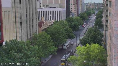 Current or last view from Adelaide: King William Street, South