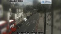 North Cheam: Holloway Rd/Highbury Corner - Overdag