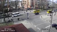 Vista actual o última Kherson: ул. Суворова
