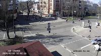 Ultima vista de la luz del día desde Kherson: ул. Суворова