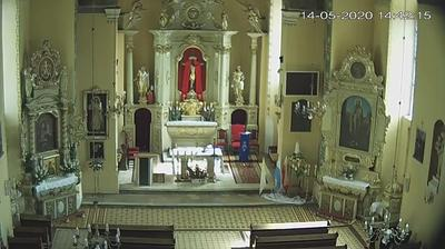 Current or last view from Sępólno Krajeńskie: Parafia św. Bartłomieja