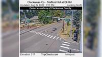 Stafford: Clackamas Co - Rd at Ek Rd - El día