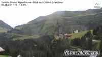 Damuls: Hotel Alpenblume - Blick nach S�den - Faschina - Recent