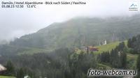 Gemeinde Damuls: Damüls - Hotel Alpenblume - Blick nach Süden - Faschina - Dagtid