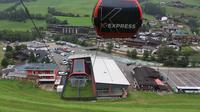 Steinhaus - Cadipietra: Talstation K-Express (.m) - Blick auf - Dagtid