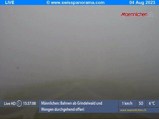Grindelwald: Männlichen, Blick zur Jungfrau