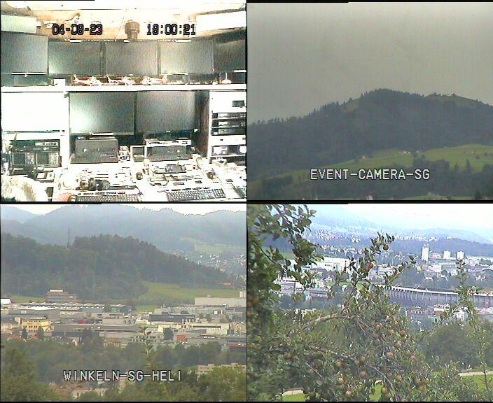 Teufen: Satellitenstation Wilen in St.Gallen