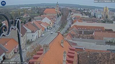 Vue webcam de jour à partir de Modra