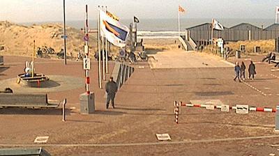 Webkamera Egmond aan Zee: Egmond Online − BEACH ENTRANCE