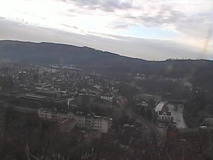 Wettingen: Aussichtspunkt Rest. Schloss Schartenfels
